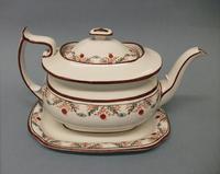 Miles Mason London Shape Teapot & Stand, c.1815-1820