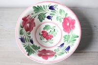 Late 19th Century Scottish Spongeware Pottery Bowl Persian Rose Pattern (22 of 23)