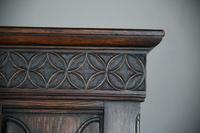 Gothic Revival Oak Cupboard (9 of 12)
