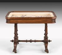 Hardwood Danish Basin Table from the Third Quarter of the 19th Century (7 of 7)