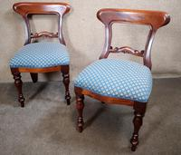 Set of Six Mahogany Dining Chairs In The Victorian Style (8 of 10)