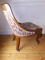 19thc Slipper Chair (2 of 7)