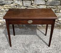 Antique Georgian Mahogany Fold Over Tea Table (3 of 27)