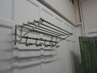 French Art Deco Style Hat and Coat Rack, Pullman Railway Train Style (4 of 7)