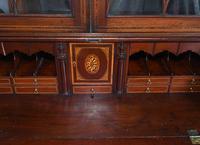 George III Bureau Bookcase Antique 1790 Desk (7 of 14)