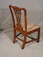 Attractive Early 20th Century Set of 7 '6+1' Chippendale Style Mahogany Framed Chairs (2 of 7)