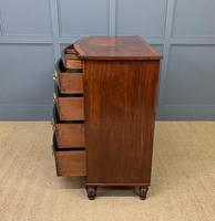 Regency Inlaid Mahogany Chest of Drawers (2 of 18)