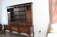 George III 3 Drawer Oak Dresser with Rack (2 of 2)