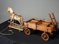 Attractive Late 19th Century German Horse & Cart (2 of 6)