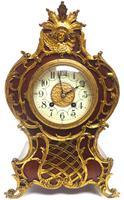 Wow! Phenomenal French Boulle Mantel Clock on Original Bracket 8 Day Mantle Clock (5 of 7)
