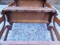 Arts & Crafts Carved Oak Book Rest (11 of 13)
