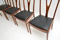 Set of 4 Vintage Dining Chairs in Rosewood & Afromosia (5 of 12)