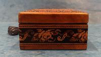 Victorian Satinwood Glove Box With Tunbridge Ware Inlay (11 of 12)