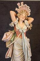 Impressive Large Antique Figure of Young Girl (2 of 28)