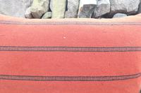 Swedish 'Folk Art' Vintage Large Woven Röllakan Cushion c.1930 (14 of 26)