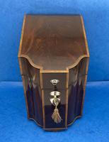 George III Mahogany Cutlery Box (4 of 12)