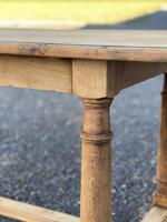 Rustic Bleached Oak Farmhouse Dining Table (20 of 25)