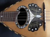 Nice Italian Mandolin - Good Decoration of a Butterfly, with Some Mother of Pearl (4 of 6)