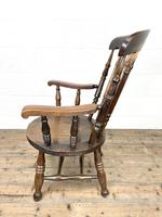 Antique 19th Century Penny Armchair (8 of 9)