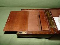 Solid Figured Oak Games Box + Accessories c.1890 (13 of 18)