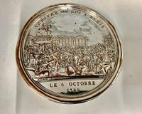 Antique 19th Century French Silver Plated Snuff Box Siege of the Bastille Snuff Box (6 of 6)
