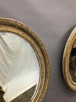 Pair of 19th Century French Gilt Mirrors (6 of 6)