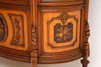 Antique Italian Walnut Display Cabinet (10 of 11)