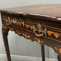 Rare 18th Century Dutch Marquetry Writing Table (8 of 13)