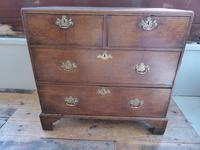 Neat English 18th Century Oak Chest of Drawers (10 of 11)
