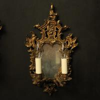 French Pair of Gilded Antique Girandoles (2 of 10)