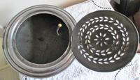 Antique English Victorian Steel Chestnut Roaster (7 of 8)