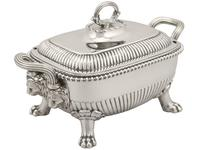 Sterling Silver Tureens - Antique George III 1810 (6 of 15)