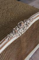 Lovely French King Size Caned Bed (8 of 9)