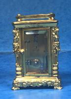 Victorian Miniature Brass Carriage Clock (8 of 11)