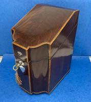 George III Mahogany Cutlery Box (3 of 12)