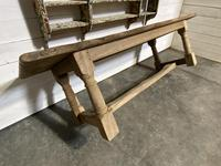 Large French Oak Rustic Farmhouse Dining Table (18 of 20)