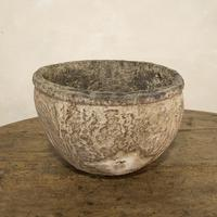 Large 18th Century Swedish Carved Wooden Burl Root - Knot Bowl (3 of 14)