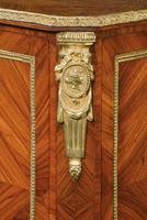 Late 19th Century Elaborate Gilt Bronze Dwarf Cabinet (4 of 5)