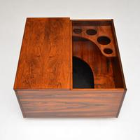 1960's Swedish Rosewood Drinks Cabinet / Coffee Table (8 of 13)