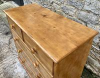 Antique Pine Chest of Drawers (5 of 17)