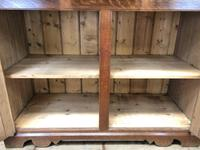 Late 19th Century Welsh Oak Two Stage Cupboard with Glazed Top (4 of 10)