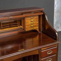 Early 20th Century Mahogany Desk (5 of 15)