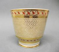 Staffordshire London Shape Coffee Cup & Saucer c.1815-1820 (3 of 6)