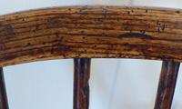 Victorian Ash & Elm Wood Childs Windsor Chair c.1840 (10 of 14)