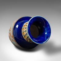 Antique Decorative Vase, English, Ceramic, Display, Art Nouveau, Edwardian, 1910 (11 of 12)
