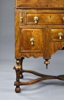 William & Mary Style Walnut Bureau (8 of 16)