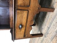 Small Antique Oak Farmhouse Country or Cottage Dresser (8 of 12)