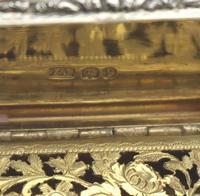 Good William IV Solid Silver Vinaigrette London 1832 (10 of 10)