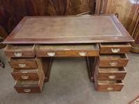 Antique Pedestal Desk (5 of 6)
