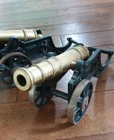 A pair of Large Display Table Cannon (3 of 4)